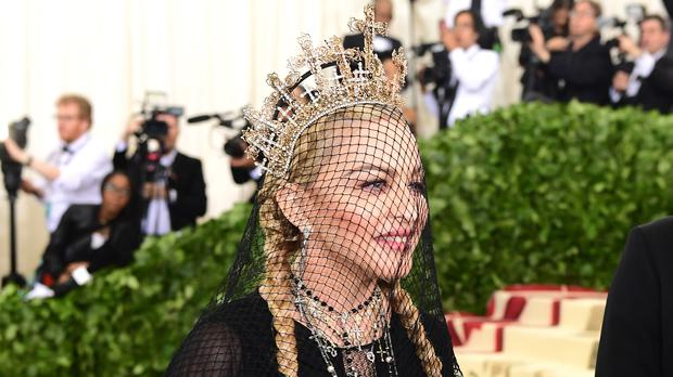 Madonna has previewed her first new music for three years (Ian West/PA)