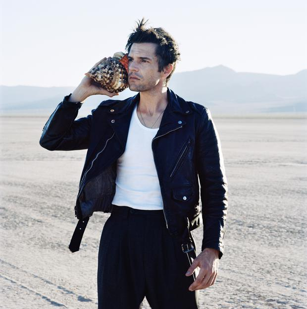Brandon Flowers. Photo: Anton Corbijn