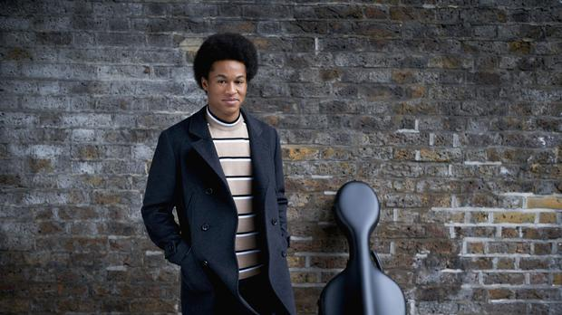 Cellist Sheku Kanneh-Mason is set to return to the Official Albums Chart after performing at the royal wedding (Lars Borges/PA)