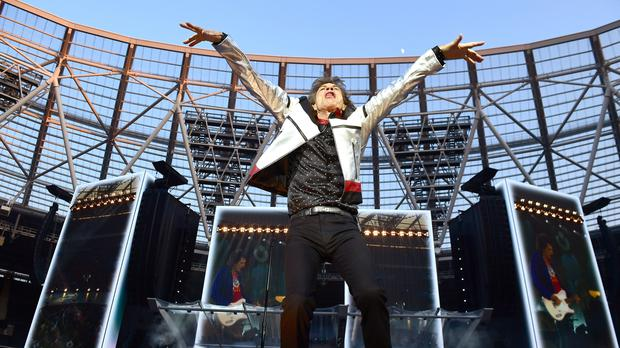 Mick Jagger Happy To Be Home As Rolling Stones Play First Uk Gig
