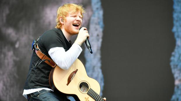 Ed Sheeran is nominated for the best live performer gong (Ben Birchall/PA)