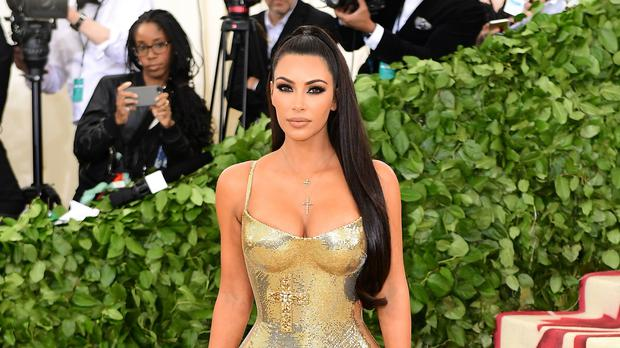 Kim Kardashian West has wished her husband Kanye West a happy 41st birthday (Ian West/PA)