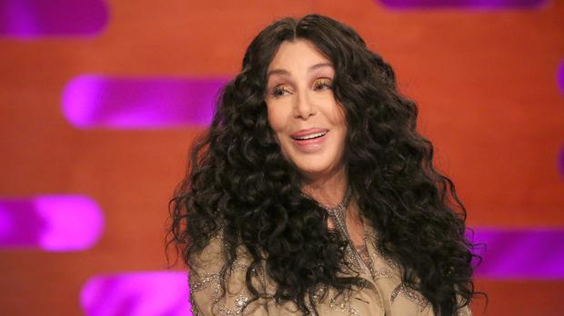 Cher on The Graham Norton Show (Isabel Infantes/PA)