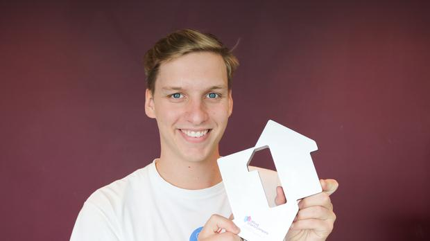 George Ezra has scored his first ever number one single with Shotgun (OfficialCharts.com)