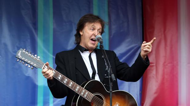 Sir Paul McCartney has backed proposed changes to EU copyright law. (Steve Parsons/PA)