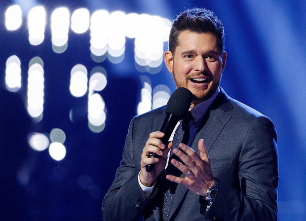 Christmas cracker: Michael Bublé has managed to shift 30 million albums at a time when record and CD sales have plummeted