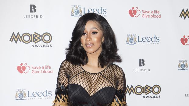 Cardi B has shared a throwback picture as she prepares to become a mother for the first time (Danny Lawson/PA)