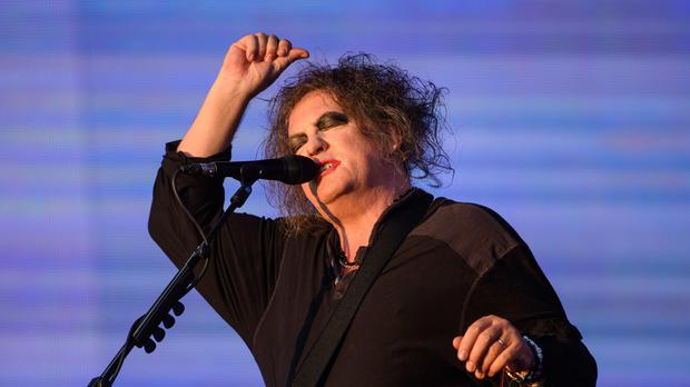Robert Smith of The Cure performing at the British Summer Time festival at Hyde Park in London (Matt Crossick/PA)
