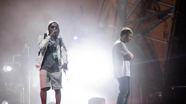 Gorillaz End Show After Del the Funky Homosapien Takes Stage Fall
