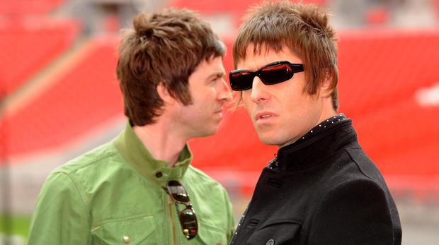 Noel and Liam Gallagher enjoyed a string of hits with Oasis (Zak Hussein/PA)