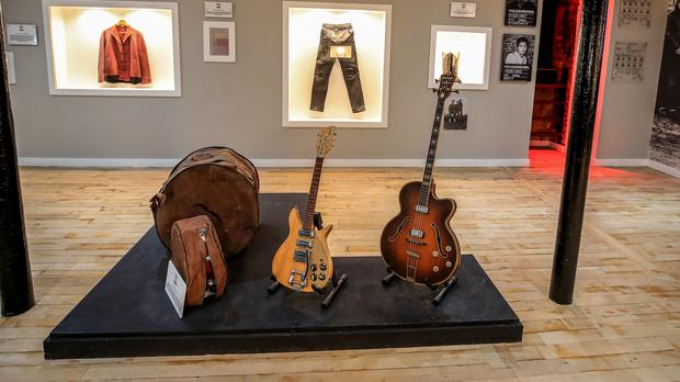 The museum houses more than 300 pieces of memorabilia (Peter Byrne/PA)