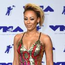 Mel B has said the death of her father ended her family feud (PA)