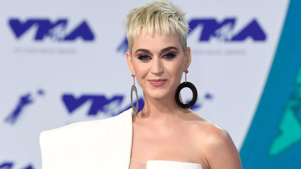 Katy Perry shared a video of herself performing a private gig for a seriously ill fan (PA)
