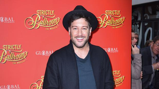 Matt Cardle stars in Strictly Ballroom The Musical (Matt Crossick/PA)