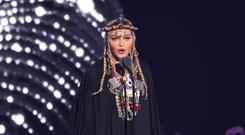 'Who let Madonna on stage?' Singer criticised over Aretha Franklin VMAs tribute (PA Wire/PA)