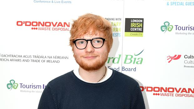 Ed Sheeran strongly hints that he got married in secret