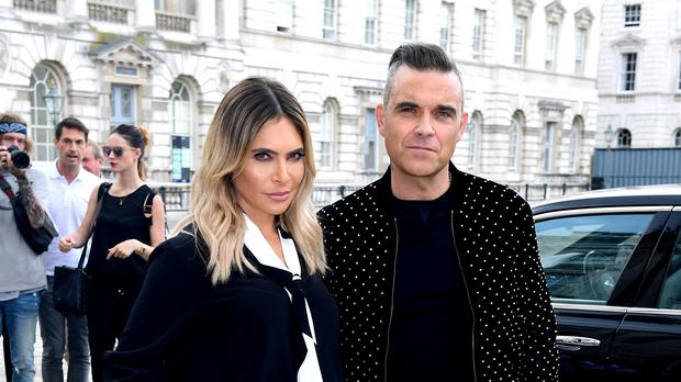 Robbie Williams and Ayda Field welcome surrogate child