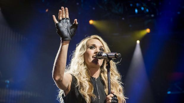 Carrie Underwood is set to be honoured with a star on the Hollywood Walk of Fame (David Jensen/PA)