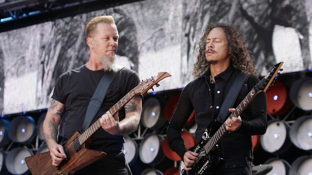 Metallica to play Slane next June