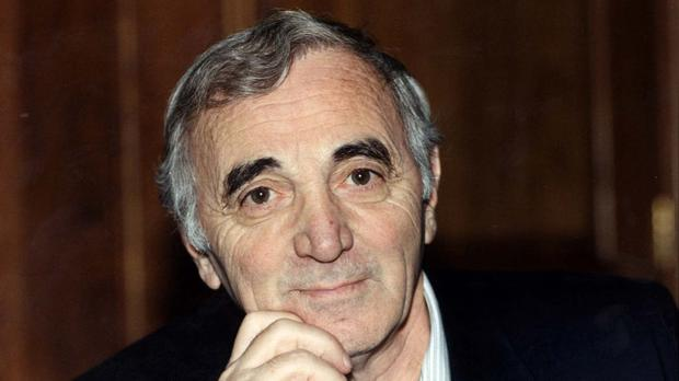 IMG CHARLES AZNAVOUR, French-Armenian Singer, Lyricist, Actor, Public Activist and Diplomat