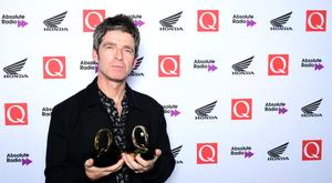 Noel Gallagher won two Q Awards (Ian West/PA)