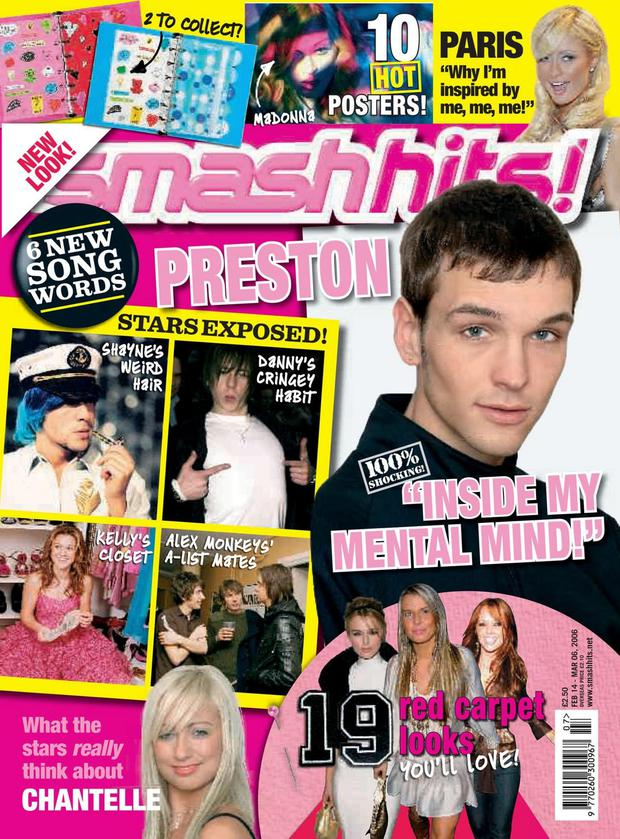 The final edition of Smash Hits in 1997.