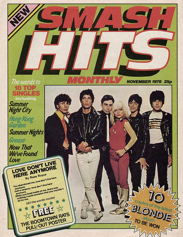 The first edition of Smash    Hits.