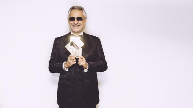 Andrea Bocelli delivers first number one classical album in 20 years (Luca Rossetti/OfficialCharts.com)