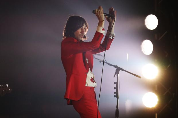 Primal Scream's Bobby Gillespie (PA)
