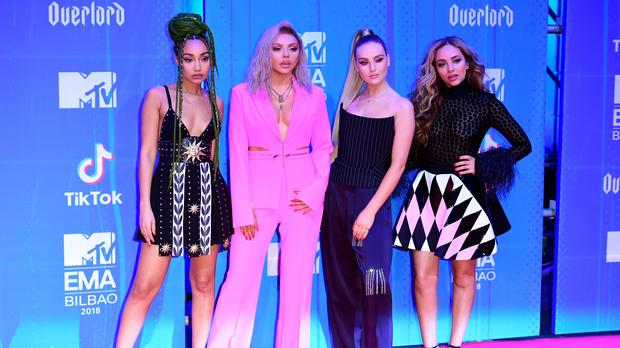 Little Mix has split from Simon Cowell's record label (Ian West / PA)