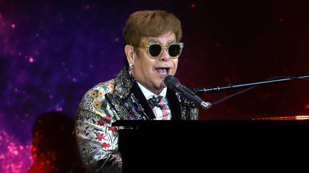 Sir Elton kicked off his goodbye tour in America in September (Greg Allen/PA)