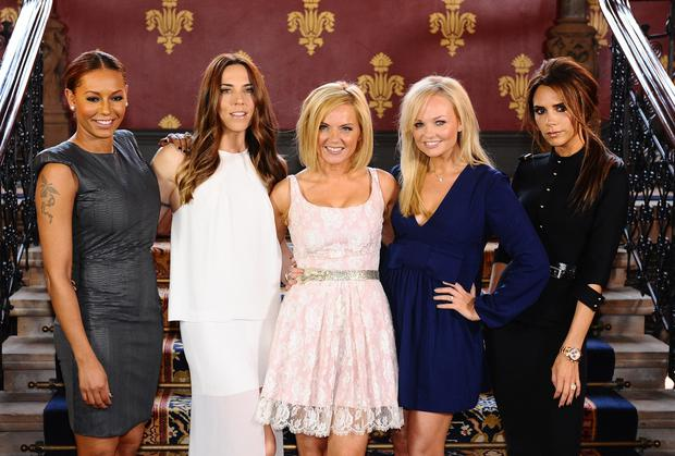 Mel B with the Spice Girls (Ian West/PA)