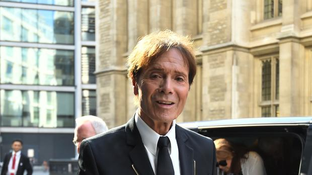 Sir Cliff Richard (Kirsty O'Connor/PA)
