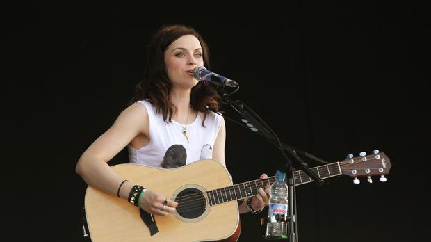 Amy Macdonald performed two hits in Dundee before heading to Glasgow (Yui Mok/PA)