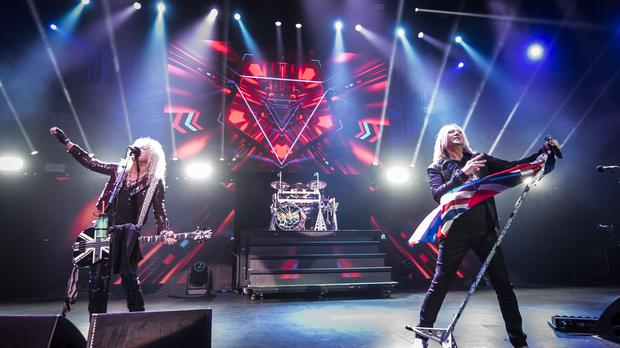 Def Leppard are entering the US hall of fame (PA)