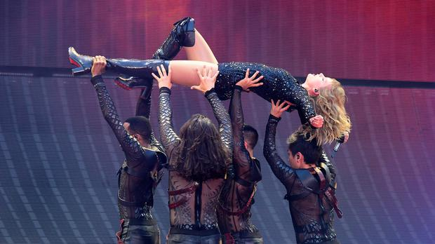 Taylor Swift revealed that her Reputation stadium tour will be released as a concert film on Netflix (Ian West/PA)