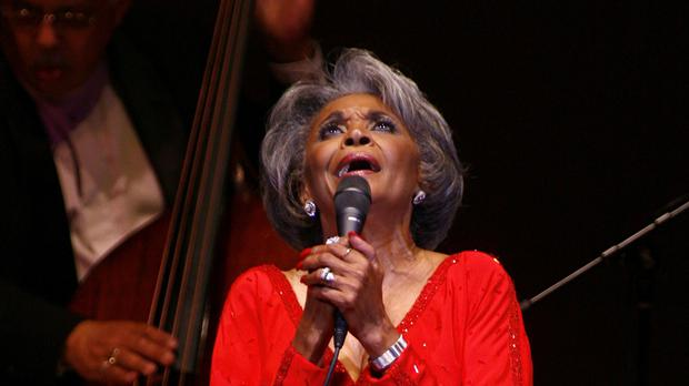 Nancy Wilson performs at her Swingin' 70th Birthday Party at Carnegie Hall in New York (Rick Maiman/AP)