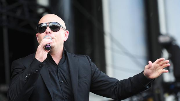 Pitbull performs at the Barclaycard Wireless Festival 2012 at Hyde Park in London (Ian West/PA)