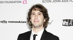 Fond of a pint of plain: Josh Groban