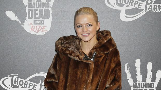 Hannah Spearritt has given birth to a daughter. (Tim Ireland/PA)