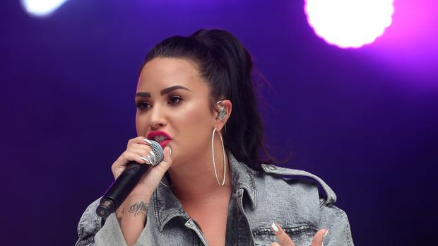 Demi Lovato said she is 'sober and grateful to be alive' (Isabel Infantes/PA)