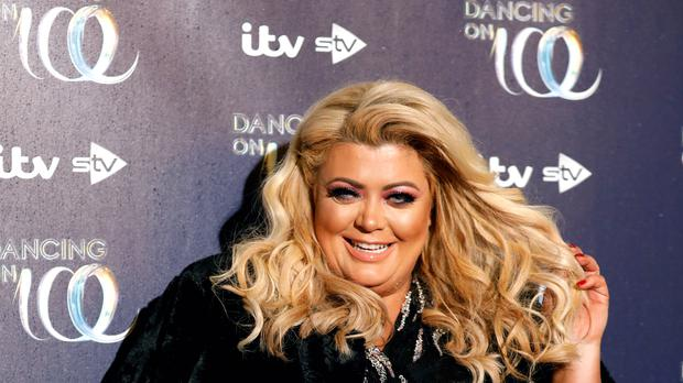 Gemma Collins said performing for 'queen' Geri Horner on All Together Now Celebrities will 'go down in history for me' (David Parry/PA Wire)