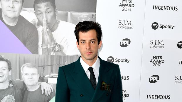 Mark Ronson shared an image of himself with Camila Cabello to Twitter (Ian West/PA)