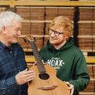 Singer songwriter Ed Sheeran has announced a collaboration with Northern Ireland based guitar firm Lowden (Daniel Knighton/Pixel Perfect Images)