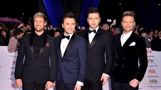 Westlife will appear on The Jonathan Ross Show tonight (Matt Crossick/PA)