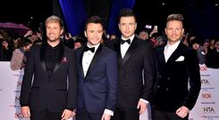 Westlife: Reunion is not about making money, it's for the glory (Matt Crossick/PA)