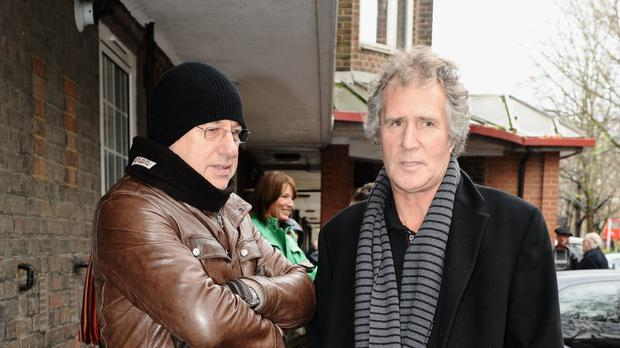 John Illsey with Mark Knopfler (Ian West/PA)