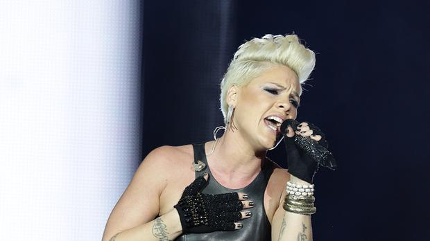 Image result for pink on stage