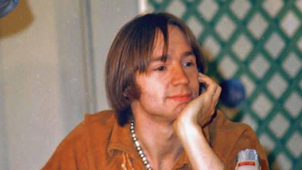 Peter Tork at the height of The Monkees' fame in 1967. (Ray Howard/AP/REX/Shutterstock)