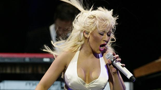 Christina Aguilera hasn't toured the UK for 13 years (PA)